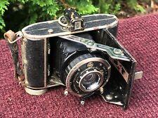 Vintage F Deckel-Munchen Compur-Rapid German Zeiss Lens Folding Camera