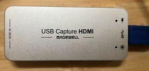 MAGEWELL USB CAPTURE HDMI USB 3.0 #32011 VERY GOOD LIVESTREAM