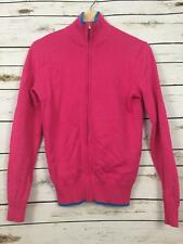 $145 NEW Polo Ralph Lauren Golf Women's Full-Zip Cardigan Sweater Pink Small