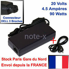 CHARGEUR ALIMENTATION  DELL 20V 4,5A PA-9 8100 8200 M40