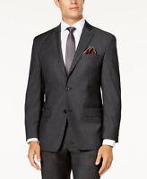 $685 Michael Kors Mens Classic Fit Sport Coat Gray Solid Suit Jacket Blazer 42r