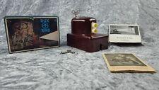 DUX KINO Modell 44 Filmprojektor Batterie Sammler Betriebsanleitung + OVP Retro