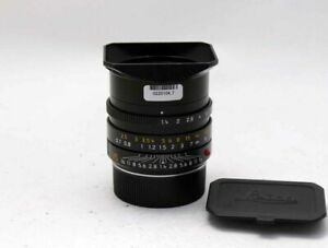 Leica Summilux-M 35mm F/1.4 ASPH 6Bit MF Lens Excellent From Japan Tested