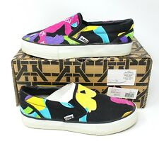 KTZ Trainee Shoes Bow Print Slip On Canvas Size 36