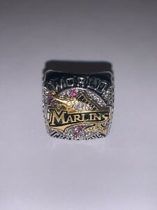 2003 Florida Marlins Championship Replica World Series Ring Size 11