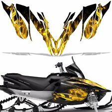 Yamaha APEX Decal Wrap Graphic Kit RTX GT MTX LTX Sled Snowmobile 12-16 ICE YLLW
