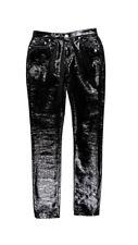 Saint Laurent Mid-Rise Vinyl Pants Size 26