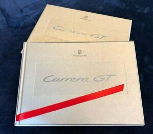 Rare Sealed Porsche Carrera GT Hardback Brochure in Presentation Box