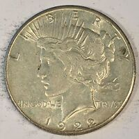 1922-S Peace Silver Dollar - Check the  High Quality Scans #C435