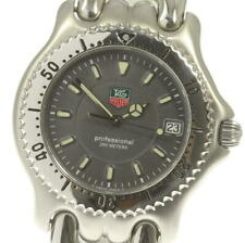 TAG HEUER S/el WG1113-K0 Date gray Dial Quartz Men's Watch_555849