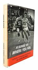 John McPhee - A Sense of Where You Are: Profile of Bill Bradley - FIRST EDITION