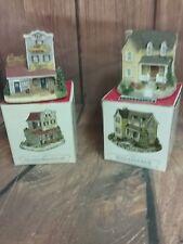 Liberty Falls Village Americana Collection Ah91 and Ah90