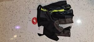 Navy Castelli TEMPO Cycling Gloves mitts Large