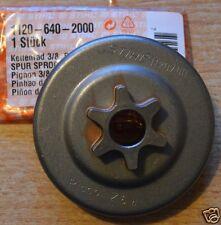 """Genuine Stihl CILINDRICI RUOTA DENTATA 009 010 011 012 3/8 """" 6T 1120 640 2000 tracciate POST"""