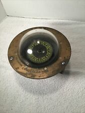 Antique Kelvin White Constellation Ship Compass Housed