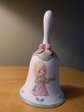 Precious Moments Le 2009 Collector Bell May Your Faith Light The Way - New