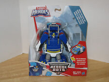 Transformers Playskool Heroes Rescue Bots Chase the Police-Bot NIP VHTF