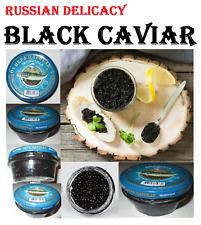 Black caviar export 3 Jars*100g/10.5oz Russian Delicacy Exp. 11.05.2020