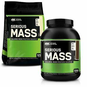 Optimum Nutrition Serious Mass 2.72kg 5.4kg Weight Gainer Mass Protein Powder