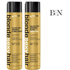 SEXY HAIR Blonde Sulfate-Free Bombshell Blonde Shampoo 300ml & Conditioner 300ml