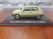 TALBOT SAMBA GL (1981) 1/43