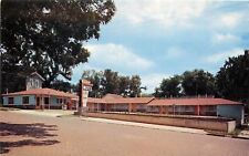Fort Scott Kansas~Azure Sky Motel~East Wall Street~Soda Pop Vending~1950s