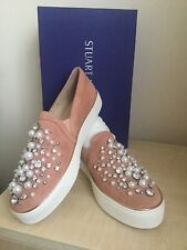 Russell & Bromley Stuart Weitzman Ladies Sneakers BN -Paid £395  Size 6.5UK/85US