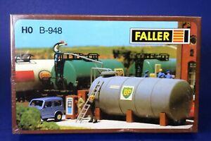 Faller HO Scale Oil Tank Reservoir Bridge Building Kit B-948