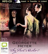 Georgette HEYER / WHY SHOOT A BUTLER?       [ Audiobook ]