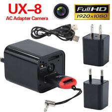 Mini EU Plug  AC Adapter HD 1080P Spy Camera USB Wall Charger Nanny Camcorder