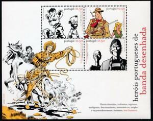 PORTUGAL 2682 MINT NH SOUVENIR SHEET, COMIC HEROS