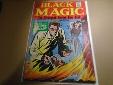 BLACK MAGIC Vol. 8 #3 Jack Kirby Crestwood Publishing 1961 Poor Incomplete