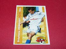 STEPHANE DEDEBANT STADE MALHERBE CAEN SMC FRANCE FOOTBALL CARD PANINI 1994