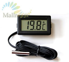 LCD Thermometer digital -50° bis +110° Digitalthermometer Temperatur messer BK