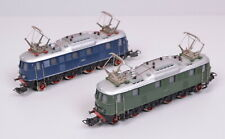 2 Pièce Märklin 3023/3024 Locomotives Électriques Série E 18 / Cast / Haut-état