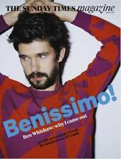 The Hollow Crown Ben Whishaw Photo Couverture Interview times Magazine 2014