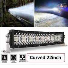 "Tri-Row 22inch 1440W Curved LED Light Bar Spot Flood Truck Offroad VS 20""24""26"""
