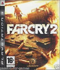 FAR CRY 2 for Playstation 3  PS3 - with box, manual & map