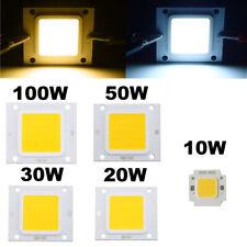 10pcs Cool/Warm White High Power SMD RGB LED Chip Flood Light Bead Lamp SMD COB