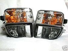 For 01-03 RAV4 Fog Light Lamp & Turn Signal Parking Light Lamp RL H Pair W/Bulbs