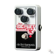 Electro-Harmonix Nano Big Muff Pi Distortion Fuzz Overdrive Guitar Effects Pedal