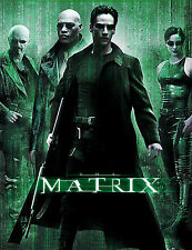 "The Matrix 1 2 3 MOVIE Fabric poster 17"" x 13"" Decor 05"