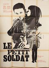 AFFICHE FILM LE PETIT SOLDAT 1960 - GODARD, ANNA KARINA, MICHEL SUBOR