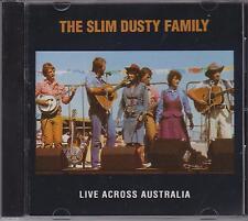 THE SLIM DUSTY FAMILY - LIVE ACROSS AUSTRALIA   - CD -