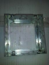 """4-11/16"""" Square Welded Electrical Extension Box Ring 2-1/8 Deep KO's~Raco 262"""