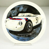 Glöckler Porsche Wand Sammel Porzellan Teller Limitiert 750 Stück von 1985