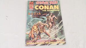 1974 Savage Tales Conan the Barbarian Vol 1 No 5 Ka-Zar He Who Stalks the Jungle