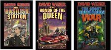 THREE Books by David Weber - Honor Harrington Books 1-3