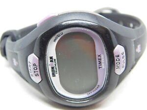 Timex Ironman Triathlon Indiglo WR 100M Quartz Digital Ladies Watch