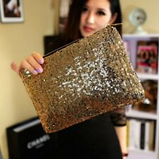 Fashion Sparkling Sequins Handbag Clutch Purse Evening Party Bag